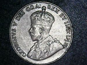 CANADIAN 1927 FIVE CENT XF