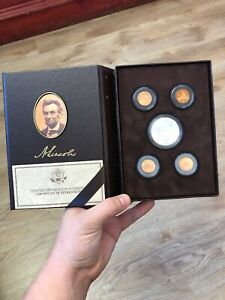 LINCOLN COIN AN CHRONICLES SET 2009