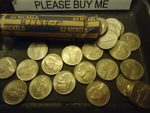 1999 P ROLL OF NICKELS            C/S & H AVAILABLE