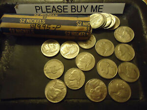 1995 P ROLL OF NICKELS            C/S & H AVAILABLE