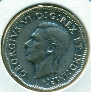 1945 CANADA FIVE CENTS ALMOST UNCIRCULATED GREAT PRICE