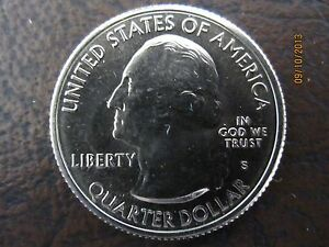 2013 S AMERICA THE BEAUTIFUL FORT MCHENRY QUARTER FROM UNCIRCULATED MINT ROLL