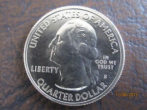 2013 S AMERICA THE BEAUTIFUL MOUNT RUSHMORE QUARTER FROM UNCIRCULATED MINT ROLL