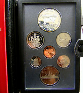 1985 CANADA DOUBLE DOLLAR PROOF SET   NOTIONAL PARKS 100TH WITH SPEC