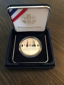 2010 AMERICAN VETERANS DISABLED FOR LIFE PROOF SILVER DOLLAR COIN  BRAND NEW