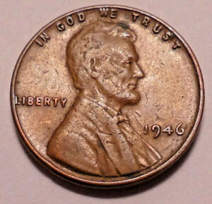 1946 P LINCOLN WHEAT CENT PENNY   NOT STOCK PHOTOS >BETTER GRADE<