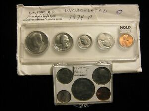 1974 P & D UNCIRCULATED MINT SET