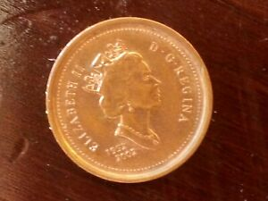 CANADIAN 1 CENT 1952 2002 COMMEMORATIVE COIN