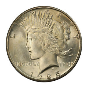 Click now to see the BUY IT NOW Price! 1925 S $1 PEACE DOLLAR PCGS MS65  CAC  3119 11