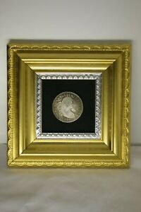 UNIQUE    1795 FLOWING HAIR DOLLAR PRESENTATION; US COLONIAL COIN COLLECTING