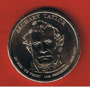 2009 P  BU  ZACHARY TAYLOR DOLLAR  12TH IN SERIES   FREE S/H