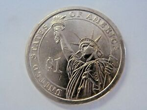 2011 D RUTHERFORD B HAYS 19TH PRESIDENTIAL U.S. ONE DOLLAR COIN