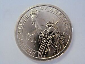 2011P ANDREW JOHNSON 17TH PRESIDENTIAL US ONE DOLLAR COIN
