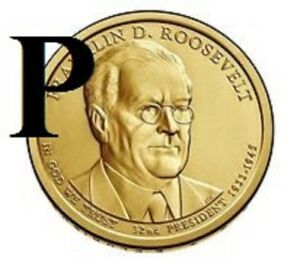 2014 P 32ND FRANKLIN D ROOSEVELT  PRESIDENTIAL U.S. ONE DOLLAR COIN