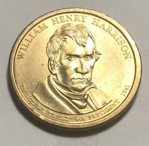 UNITED STATES 2009 WILLIAM HENRY HARRISON PRESIDENTIAL ONE DOLLAR COIN