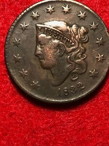 1832 UNITED STATES MATRON LARGE CENT