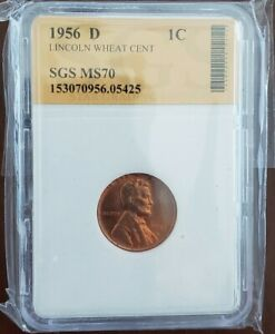 1956 D LINCOLN WHEAT CENT