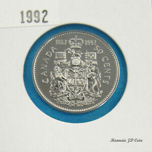 1992  CANADA 50 CENT SPECIMEN FROM SET