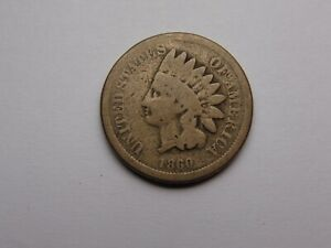 1859 INDIAN HEAD CENT GOOD FIRST YEAR  NICE  MUST SEE