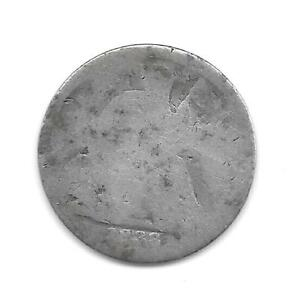 US SEATED LIBERTY HALF DIME MINTED IN 1838  1