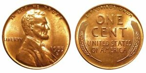 1955 D BU UNCIRCULATED LINCOLN CENT   $2.75 MAXIMUM SHIPPING FOR ENTIRE ORDER