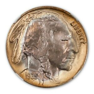 Click now to see the BUY IT NOW Price! 1935 D BUFFALO NICKEL TYPE 2 5C NGC MS68