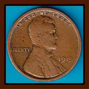 1919 D: BRN AG/G LINCOLN WHEAT CENT