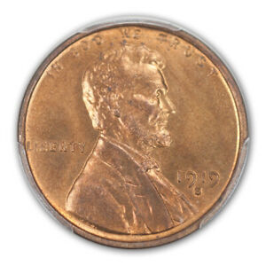 Click now to see the BUY IT NOW Price! 1919 S 1C LINCOLN CENT   TYPE 1 WHEAT REVERSE PCGS MS65 RD