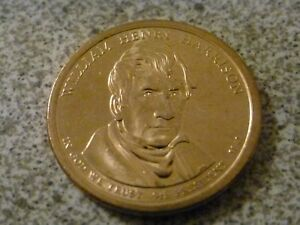 2009 D WILLIAM HENRY HARRISON 9TH PRESIDENTIAL U.S. ONE DOLLAR COIN