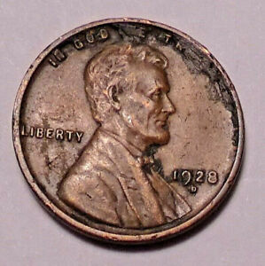 1928 D LINCOLN WHEAT CENT PENNY   NOT STOCK PHOTOS