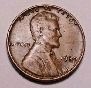 1939 P LINCOLN WHEAT CENT PENNY   NOT STOCK PHOTOS