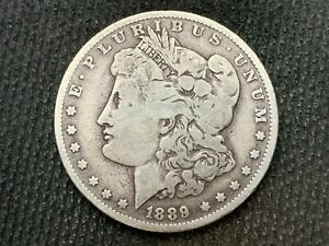 1889 O  MORGAN DOLLAR   VF         3 OR MORE   FREE S/H      90  SILVER    C1135