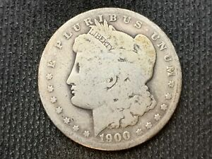 1900 S  MORGAN DOLLAR   G         3 OR MORE   FREE S/H      90  SILVER    C1119