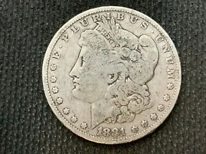 1881 P  MORGAN DOLLAR   F       3 OR MORE   FREE S/H       90  SILVER     C1117
