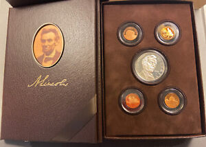 2009 UNITED STATES MINT LINCOLN COIN & CHRONICLES SET ORIGINAL BOX AND COA NJ003