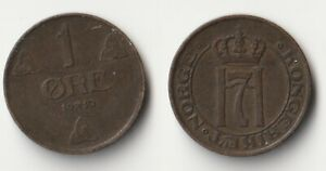 1910 NORWAY 1 ORE COIN