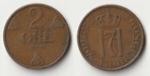 1928 NORWAY 2 ORE COIN