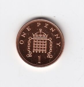 1997 ONE PENNY LY NICE BRILLIANT UNC CONDITION NICE COIN   3263