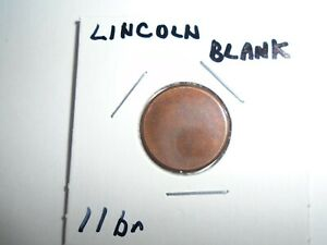 LINCOLN CENT  BLANK PLANCHET MINT ERROR