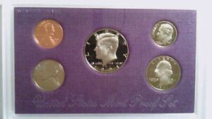 1991 UNITED STATES 5 COIN PROOF SET