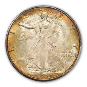 Click now to see the BUY IT NOW Price! 1929 D 50C WALKING LIBERTY HALF DOLLAR PCGS MS66