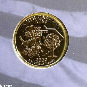 2000 S PROOF STATE QUARTER FROM MINT SET