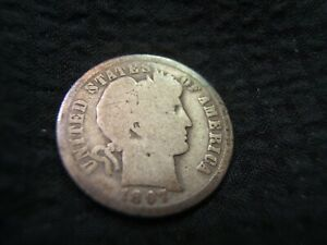 BETTER DATE 1897 O BARBER SILVER DIME G    JUST UPGRADED AND SELLING EXTRAS