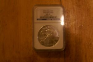 2010 NGC MS70 EARLY REALEASE SILVER EAGLE