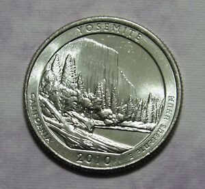 2010 P YOSEMITE CALIFORNIA NATIONAL PARKS AMERICA THE BEAUTIFUL QUARTER