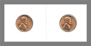 1956 D TO 1959 D: FR BU LINCOLN WHEAT CENTS / 4 COIN LOT / ALL 'D' MINTS
