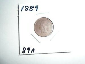 1889 P INDIAN HEAD CENT / PENNY  CIRCULATED