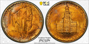 1926 $2.50 GOLD SESQUICENTENNIAL GOLD COMMEMORATIVE PCGS MS 64  LOW MINT