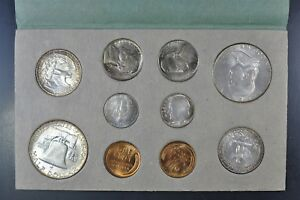 Click now to see the BUY IT NOW Price! 1952 P D S UNCIRCULATED MINT SET IN THE ORIGINAL  MINT ISSUED ENVELOPE