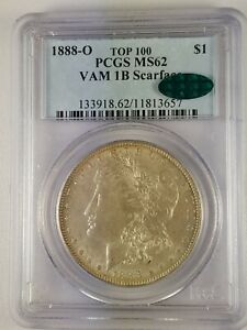 Click now to see the BUY IT NOW Price! 1888 O MORGAN DOLLAR VAM 1B4 VLDS SCARFACE.  PCGS/CAC MS62